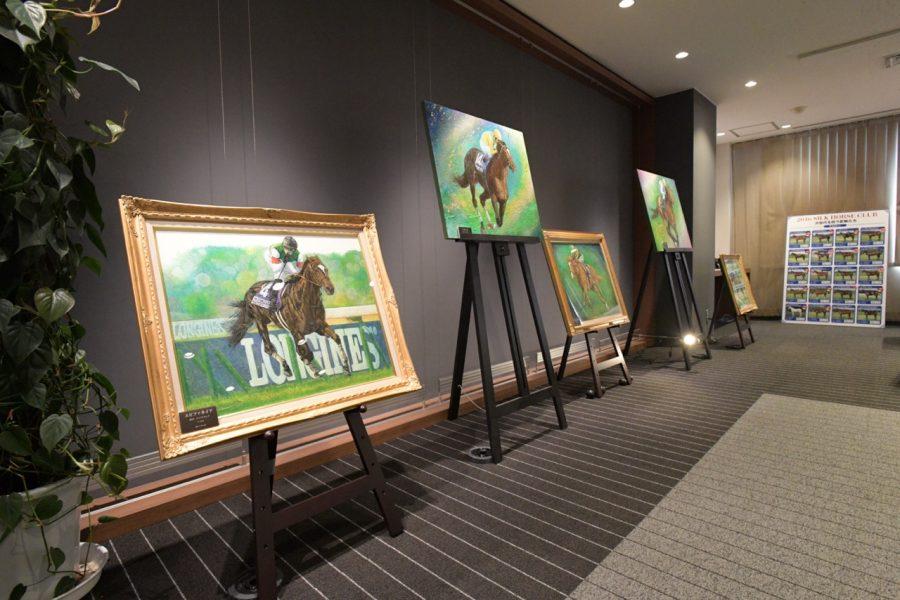 上鈴木正一「名馬コレクション 原画展」開催中